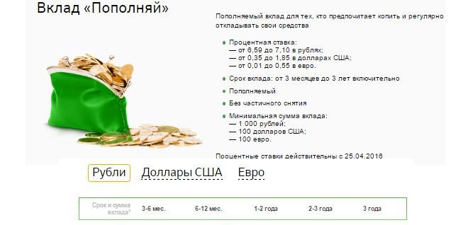 Банковские программы Сбербанка для пенсионеров.